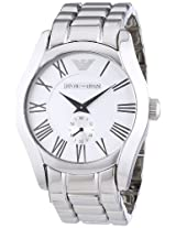 Emporio Armani Classic Analog Silver Dial Men's Watch AR0647