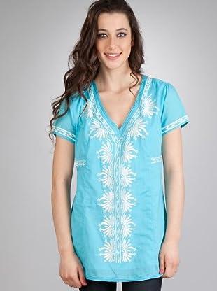 Flamenco Vestido Rania (Azul)