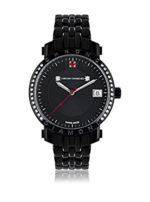 Chrono Diamond Quarzuhr Woman schwarz