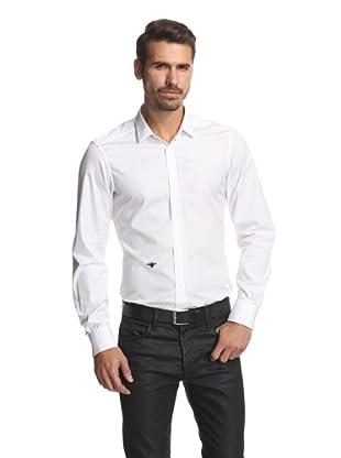 Dior Men's Slim Fit Shirt (White)