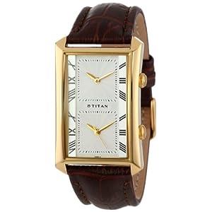 Titan ND1490YL07 Orion White Dial Men's Watch