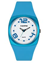 Calypso Blue PU Analog Women Watch K5633 4