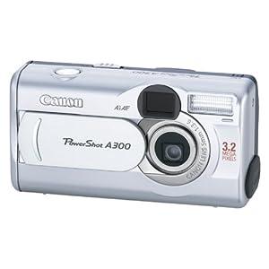 Canon PowerShot A300 3.2MP Digital Camera with 5.1x Digital Zoom