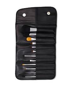 Beaute Basics 12 Piece Professional Brush Set with Case