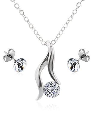 Diamond Style Set Kette, Anhänger und Ohrringe Adore