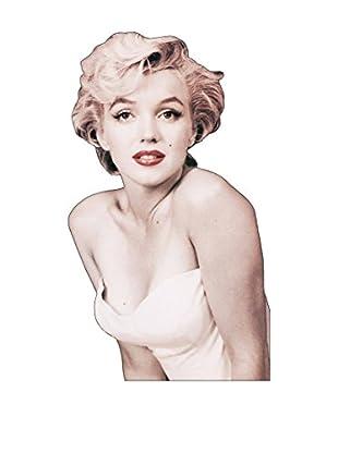 Artopweb Wandbild Marilyn Marilyn Monroe Red Lips Bunt