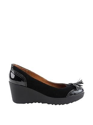 Liberitae  Zapatos Salón  Borlas (Negro)