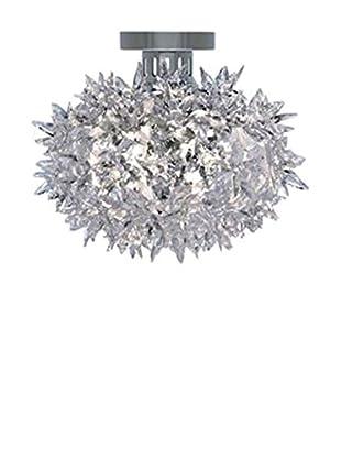 Kartell Wand- und Deckenlampe Bloom Cw2 kristall