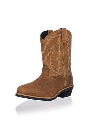 Dan Post Kid's Crazy Horse Boot (Brown)