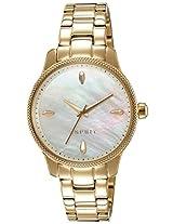 Esprit Analog White Dial Women's Watch - ES108602005
