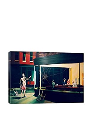 Banksy Nighthawks Gallery Wrapped Canvas Print