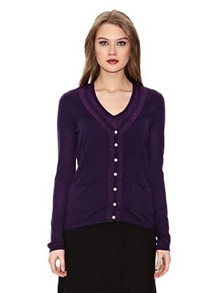 Assuili Conjunto Cardigan + Jersey (Violeta)