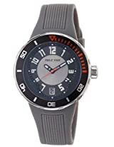 Men'S Active Black And Grey Dial And Grey Rubber (34Bgrrgr)