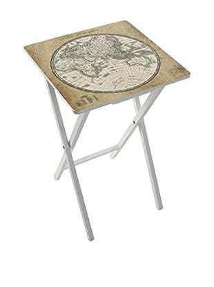 MIMMA Mesa Plegable World Map