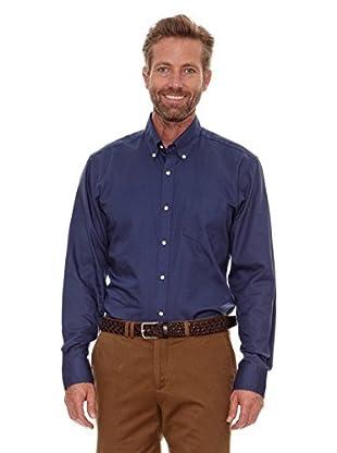 Cortefiel Camisa Liso (Azul)