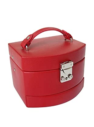 Morelle & Co. Laura Expandable Jewelry Box (Red)