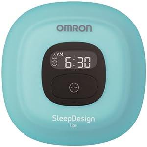 【クリックで詳細表示】オムロン ねむり時間計 ブルー HSL-001-B【ウェルネスリンク対応】