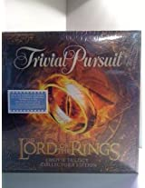 "Trivial Pursuit ""The Lord Of The Rings"" Movie Trilogy Edition"