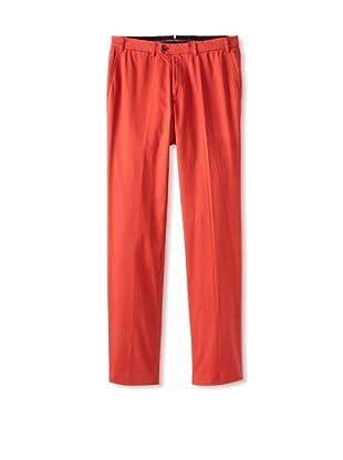Hiltl Men's Casual Pant (Orange)
