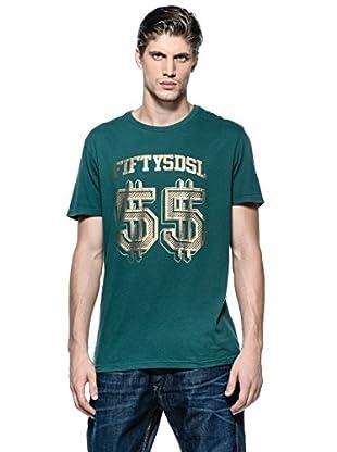 55Dsl Camiseta Dollars (Verde)