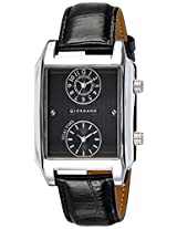 Giordano Analog Black Dial Men's Watch - 60059 DTL Black - P10704