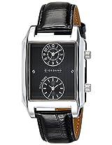Giordano Analog Black Dial Men's Watch - 60059 DTL Black - P10704