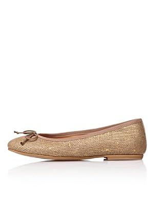Bisue Bailarinas Trenzada (Oro)