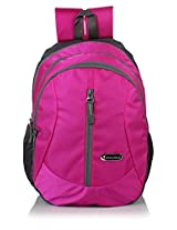 Bag-Age Happy 30 Large School Backpack (Pink)