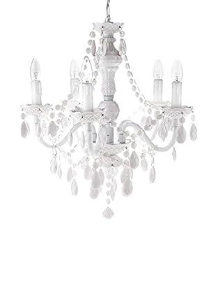 Contemporary Lighting Lámpara De Araña Jewel Blanco