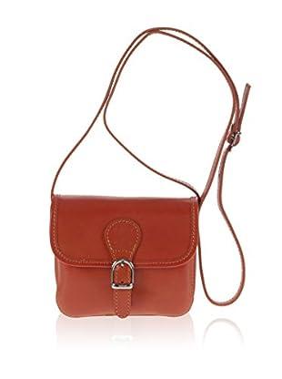 PITTI BAGS Überschlagtasche  orange