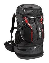 Speedo Tri-Clops Backpack, Black/Grey/Red, 50-Liter