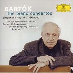 ブーレーズ指揮 バルトーク:ピアノ協奏曲全集の商品写真