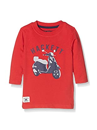 Hackett London Camiseta Manga Larga Scooter Tee Ls T