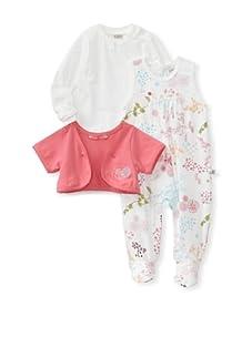 KANZ Baby Knit Romper Set (Fuchsia)