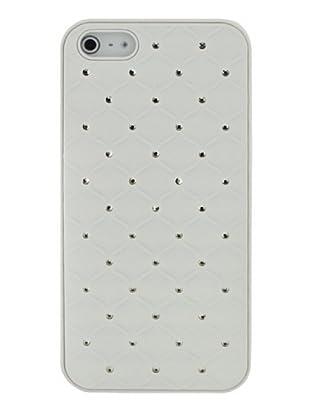 Blautel iPhone 5 Carcasa Protectora Trasera Diamond White Blanco