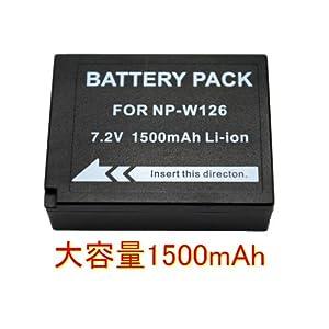 ◆富士フィルム NP-W126◆互換バッテリー◆F30/F31fd/HS30EXR/FX-Pro1/X-E1