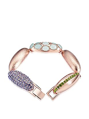 Saint Francis Crystals Armband Made with Swarovski® Elements rosévergoldet one size