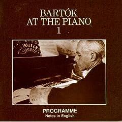 輸入盤 バルトーク自作自演録音集 Bartok at the Piano(Hungaroton CD6枚組)のAmazonの商品頁を開く