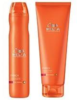 Wella Professionals Enrich Shampoo and Conditioner Duo