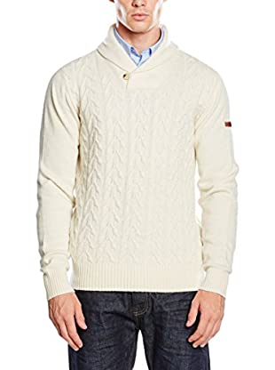 Ben Sherman Pullover Textured Shawl Collar