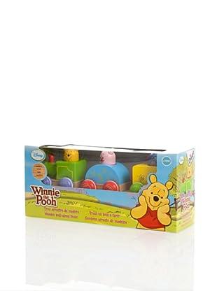 Diset Winnie The Pooh Tren Arrastre Madera