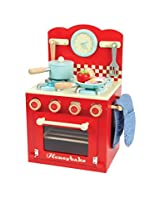 Le Toy Van Oven and Hob Set, Red