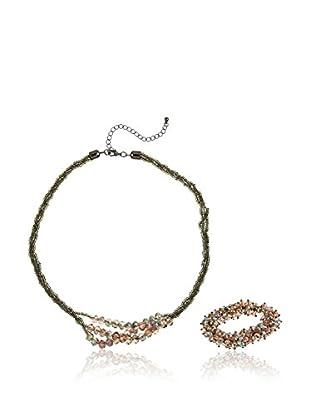 Cortefiel Conjunto de collar y pulsera