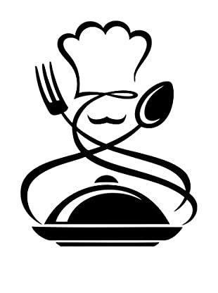 Ambiance Sticker Wandtattoo Kitchen Design Chef