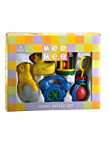 Mee Mee Infant Rattle Set, Multi Color