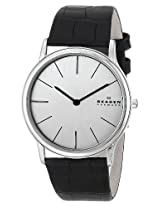 Skagen Analog Silver Dial Men's Watch 858XLSLC