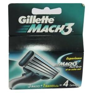 Mach3 Turbo - 4pcs (Gillette)