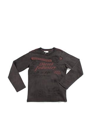 Diesel Junior Camiseta Tibox (Antracita)