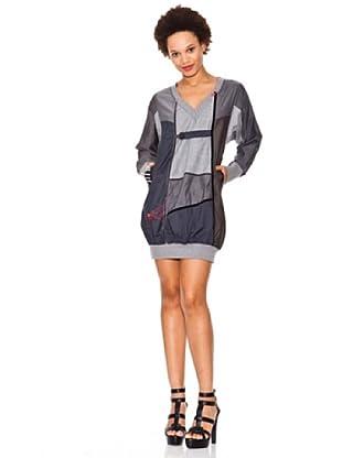 Desigual Vestido Globo (gris)