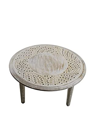 Large Rajasthan Table, Off-White